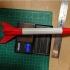 Alpha 3D Model Rocket image