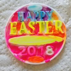 Print'n'Paint Coaster Easter 2018