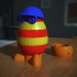 Incognito Egg #TinkercadEaster image
