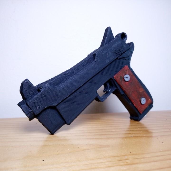 3D Printable Fortnite Gun By Gprint3d