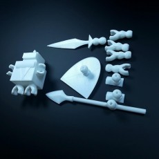 Picture of print of Block Knight