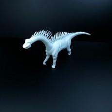 Picture of print of Amateur Model Amargasaurus