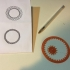 Spirograph - drawing machine Toy - fast/simple One print image