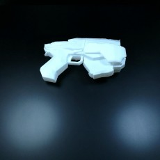 Picture of print of Gears of War 3 snub pistol