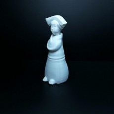 Picture of print of Chinese staue