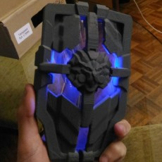 Brigitte shield with leds.