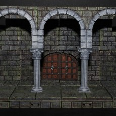 OpenForge 2.0 Cut-Stone Colonnade
