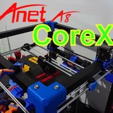 Core A8 an Anet A8 rebuild into a CoreXY printer
