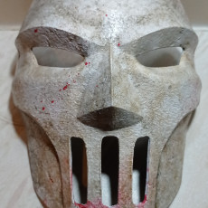 Picture of print of Casey Jones Mask (TMNT)