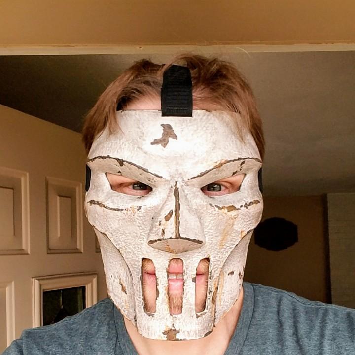 3D Printable Casey Jones Mask (TMNT) by PETER SNYDER