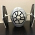 Easter Egg Challenge: TIE Fighter with BB-8 and R2D2 inside image