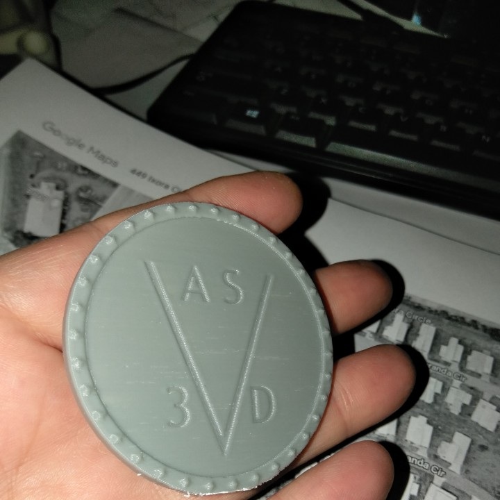 A SKEWED VIEW 3Ds LOGO SHIELD