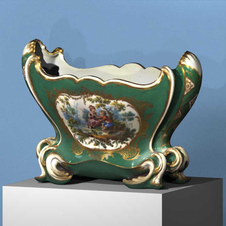 Sèvres vase (Cuvette)