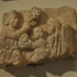 Fragment from the lid of a Sarcophagus image