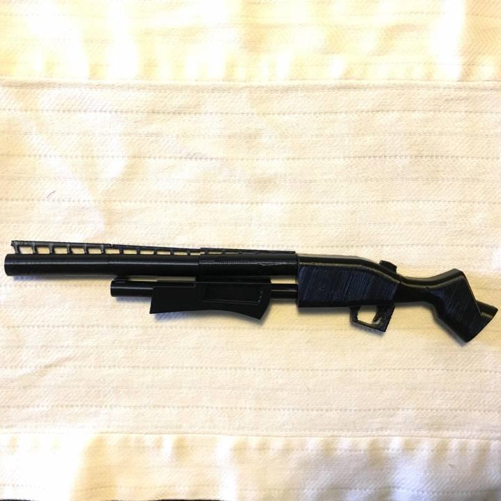 fortnite's shotgun real size