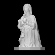 Mary and Joseph from a Representation of the Holy Family