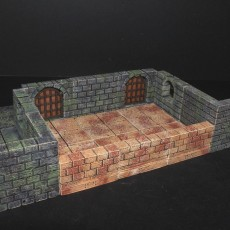 OpenForge 2.0 Cut Stone Half Wall