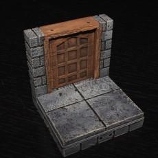 OpenForge 2.0 Cut Stone Square Door