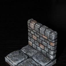 OpenForge Stone Dungeon Walls