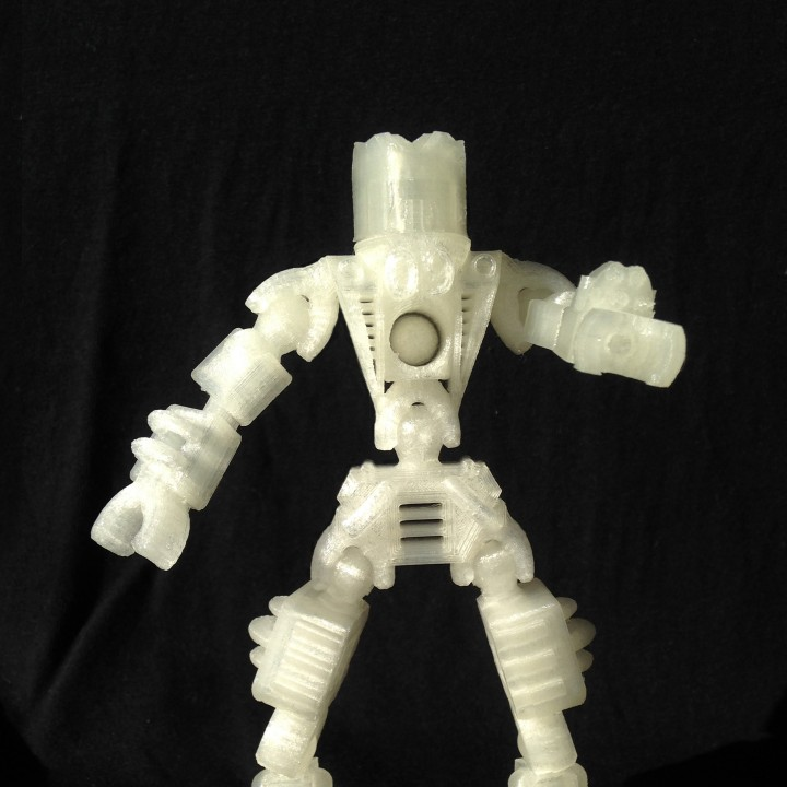 Articulated ASTROMAN Combat Robot Toy - #TinkercadEaster