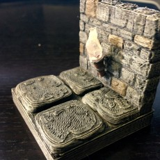 OpenForge Stone Torch Wall