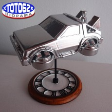 Picture of print of Puffy Vehicles - Flying DeLorean from Back to the Future Dieser Druck wurde hochgeladen von xTOTO62x