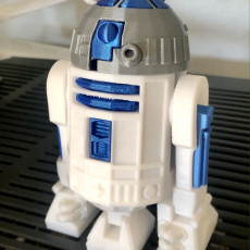 Picture of print of R2D2