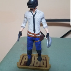 Picture of print of Playerunknown's Battlegrounds Figure