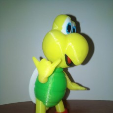 Picture of print of Koopa troopa red (Hang Loose pose) from Mario games - Multi-color