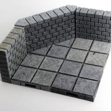 OpenForge Cut-Stone OpenLOCK Angled Floors