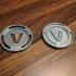 Fortnite v-bucks coin, two variants image