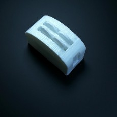 Picture of print of A 3d toaster with bread