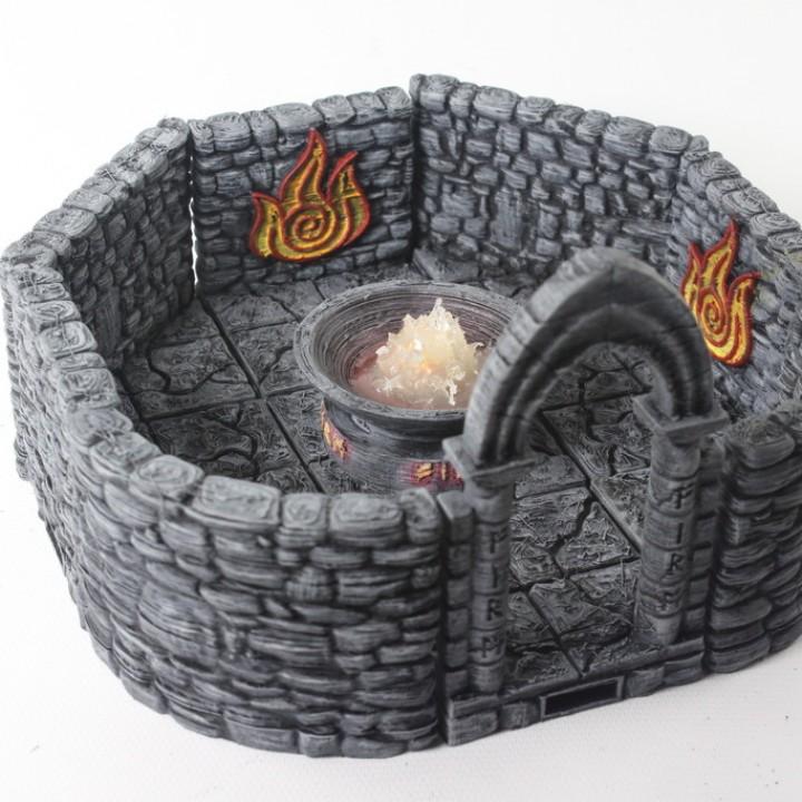 OpenForge 2.0 Encounter: Fire Shrine