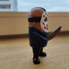 Picture of print of Mini Jason from Friday the 13th 这个打印已上传 Koltsa