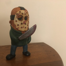 Picture of print of Mini Jason from Friday the 13th 这个打印已上传 ArcLight3d