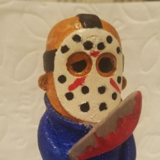 Picture of print of Mini Jason from Friday the 13th 这个打印已上传 kreso