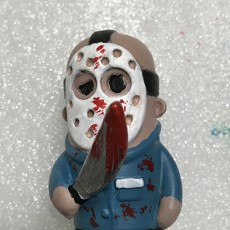 Picture of print of Mini Jason from Friday the 13th 这个打印已上传 Daniel Barrionuevo
