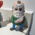 Mini Jason from Friday the 13th print image