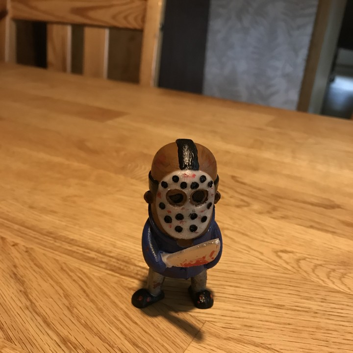 Mini Jason from Friday the 13th
