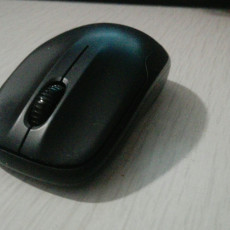 Picture of print of Flexible Mouse Cable Holder