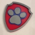 Paw Patrol badge multi color image