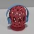 Voronoi Headphone Stand image