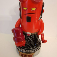 Picture of print of Mini Hellboy