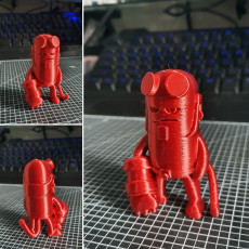 Picture of print of Mini Hellboy Этот принт был загружен Kyungjun Lee
