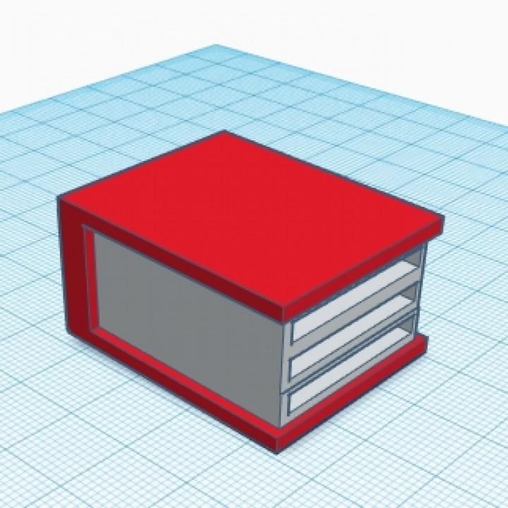 SD card holder - book
