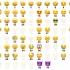 Emoji faces keychain image