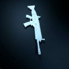 Picture of print of fortnite scar