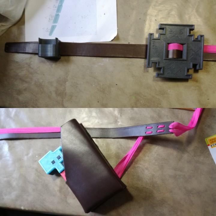 Hyper Light Drifter Buckle Belt