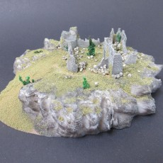 Picture of print of Modular wargaming hills