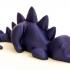 Lazy dinosaur image